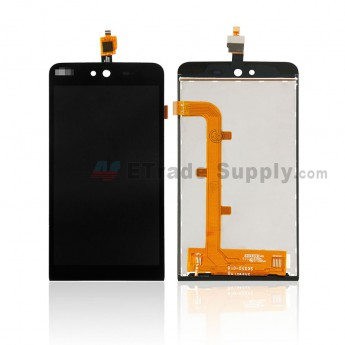 For Wiko Rainbow Jam LCD Screen and Digitizer Assembly Replacement (TF0949C) - Black - Without Any Logo - Grade S+ (0)
