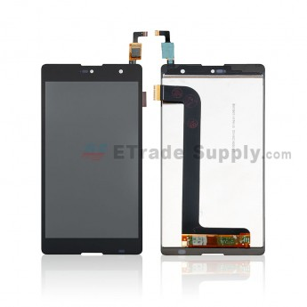 For Wiko Robby LCD Screen and Digitizer Assembly Replacement - Black - Without Any Logo - Grade S+ (0)