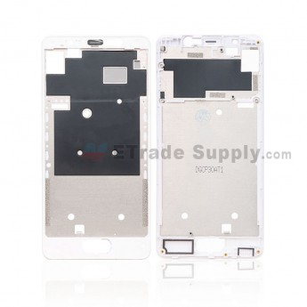 For Wiko U Feel Front Housing Replacement - White - Grade S+ (0)