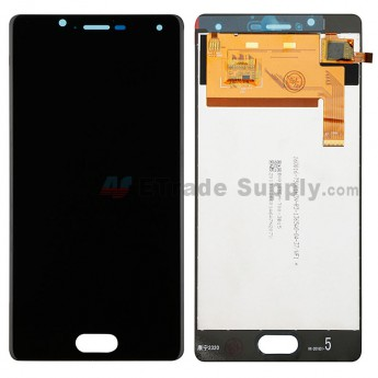 For Wiko U Feel LCD Screen and Digitizer Assembly Replacement - Black - Without Any Logo - Grade S+ (0)