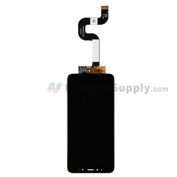 For Xiaomi Mi A2 (Mi 6X) LCD Screen and Digitizer Assembly Replacement - Black - Grade S+ (0)