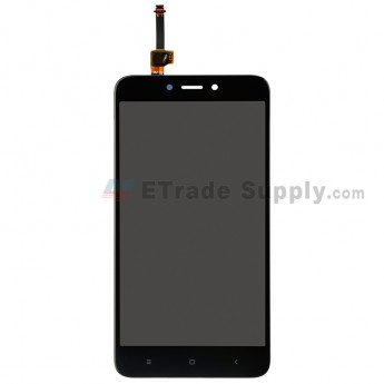 For Xiaomi Redmi 4X LCD Screen and Digitizer Assembly Replacement - Black - Grade S+ (0)