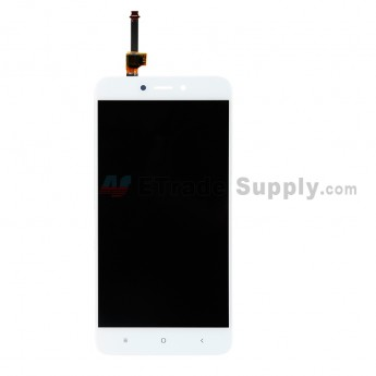 For Xiaomi Redmi 4X LCD Screen and Digitizer Assembly Replacement - White - Grade S+ (0)