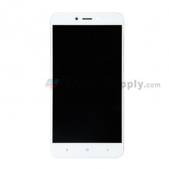 For Xiaomi Redmi 4X LCD Screen and Digitizer Assembly with Front Housing Replacement - White - Grade S+ (0)