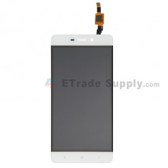 For Xiaomi Redmi 4 LCD Screen and Digitizer Assembly Replacement - White - Grade S+ (0)
