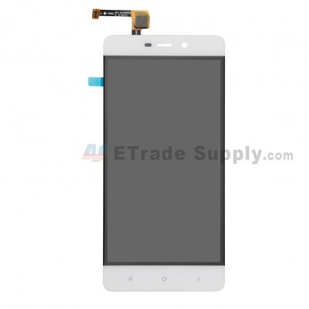 For Xiaomi Redmi 4 LCD Screen and Digitizer Assembly Replacement - White - Without Logo - Grade S+ (0)