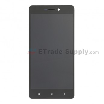 For Xiaomi Redmi Mini 3/3S LCD Screen and Digitizer Assembly with Front Housing Replacement - Black - Without Logo - Grade S+ (0)
