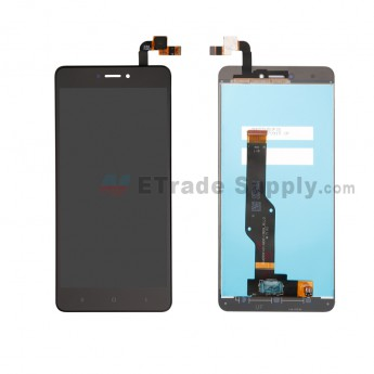 For Xiaomi Redmi Note 4X LCD Screen and Digitizer Assembly Replacement - Black - Grade S+ (0)