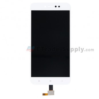 For Xiaomi Redmi Note 5A LCD Screen and Digitizer Assembly Replacement - White - Grade S+ (0)