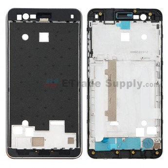 For ZTE Blade A510 Front Housing - Gray - Grade S+ (0)