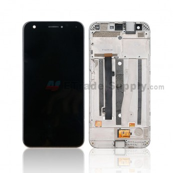 For ZTE Blade A512 LCD Screen and Digitizer Assembly - Black - Without Logo - Grade S+ (0)