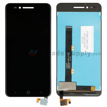 For ZTE Blade A610 LCD Screen and Digitizer Assembly Replacement - Black - Without Logo - Grade S+ (0)