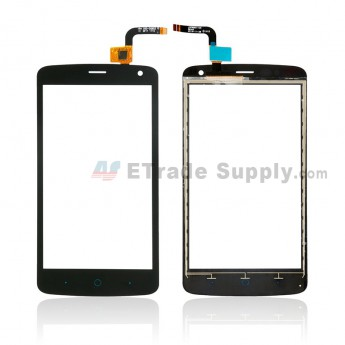 For ZTE Blade C370 Digitizer Touch Screen Replacement - Black - Without Logo - Grade S+ (0)