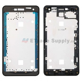 For ZTE Blade L3 Front Housing Replacement - Black - Grade S+ (0)