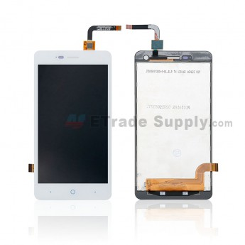For ZTE Blade L3 LCD Screen and Digitizer Assembly Replacement - White - Without Logo - Grade S+ (0)