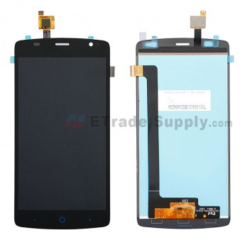 For ZTE Blade L5 Plus LCD Screen and Digitizer Assembly Replacement - Black - Without Logo - Grade S+ (0)