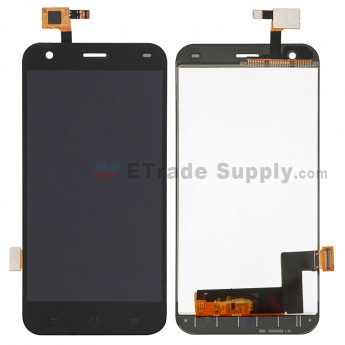For ZTE Blade S6 Flex LCD Screen and Digitizer Touch Screen Assembly - Black - Without Logo - Grade S+ (0)