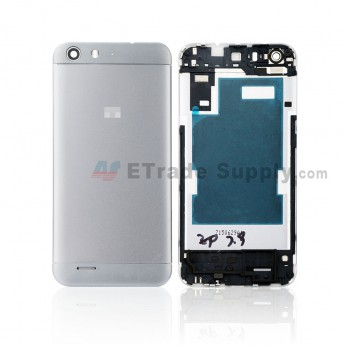 For ZTE Blade V6 Battery Door Replacement - Gray - Grade S+ (0)