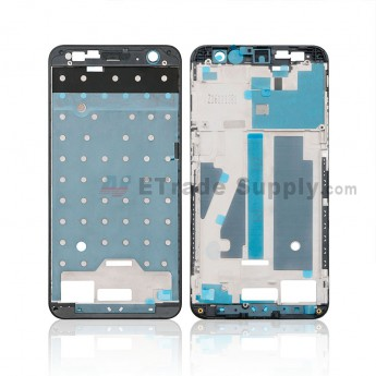 For ZTE Blade V7 Front Housing Replacement - Black - Grade S+ (0)