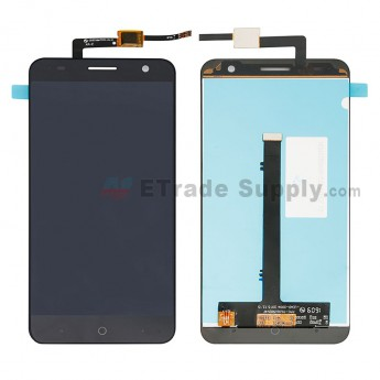 For ZTE Blade V7 LCD Screen and Digitizer Assembly Replacement - Black - Without Any Logo - Grade S+ (0)
