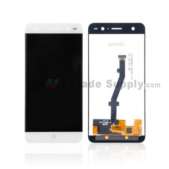 For ZTE Blade V7 Lite LCD Screen and Digitizer Assembly Replacement - White -Without Any Logo - Grade S+ (0)