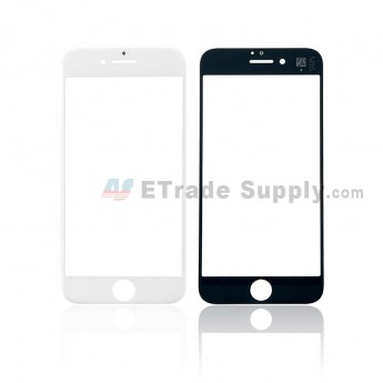 For iPhone 8 Glass Lens Replacement - White - Grade S+ (0)