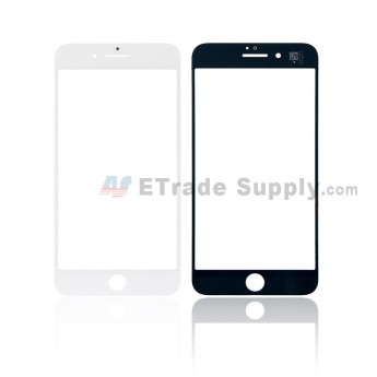For iPhone 8 Plus Glass Lens Replacement - White - Grade S+ (0)