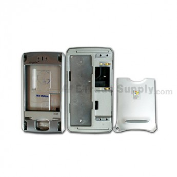 For Cingular 8125 Housing Replacement - Silver - Grade R
