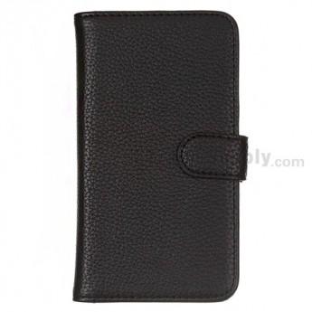 LG Nexus 4 E960 Leather Case ,Black