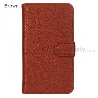 LG Nexus 4 E960 Leather Case ,Brown