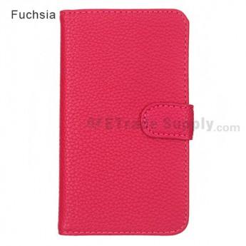 LG Nexus 4 E960 Leather Case ,Fuchsia