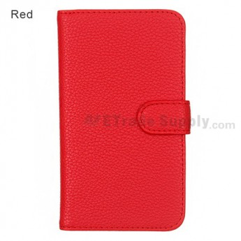 LG Nexus 4 E960 Leather Case ,Red