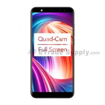 Leagoo M9 Smartphone 5.5 Inch Android 7.0 Quad Core Mobile Phone ( 2 GB RAM + 16 GB ROM ) - Black (0)