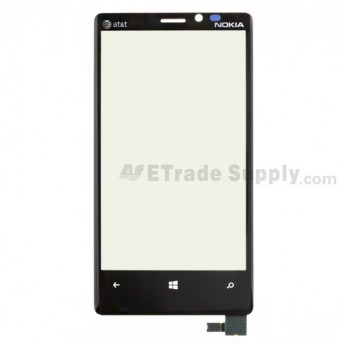 Nokia Lumia 920 Digitizer Touch Screen with Adhesive ,With AT&T Logo
