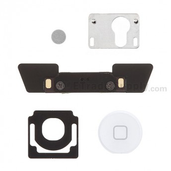 OEM Apple The New iPad (iPad 3) Home Button and Mounting Bracket Set ,White