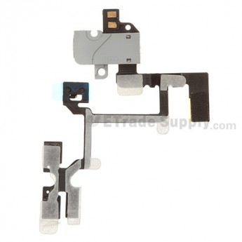 OEM Apple iPhone 4 Audio Flex Cable Ribbon (AT&T) ,White