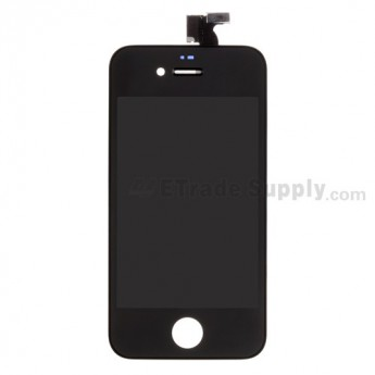 OEM Apple iPhone 4 LCD Screen and Digitizer Assembly with Frame (Verizon Wireless) ,Black