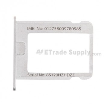 OEM Apple iPhone 4 Sim Card Tray (AT&T) ,With Words