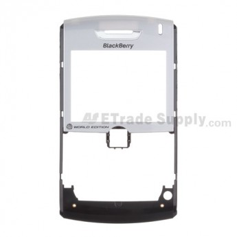 OEM BlackBerry 8830 Front Housing with Lens ,Silver