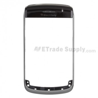 OEM BlackBerry Bold 9700 Chrome Ring with Top Cover ,Black