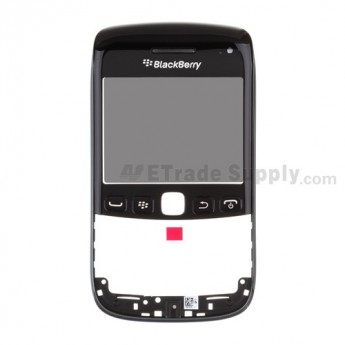 OEM BlackBerry Bold 9790 Digitizer Touch Panel with Front Housing and Lens Assembly ,Black