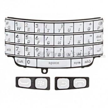 OEM BlackBerry Bold 9790 Keypad Set ,White