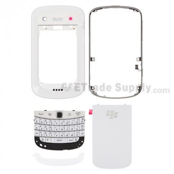 OEM BlackBerry Bold Touch 9900 Complete Housing ,White