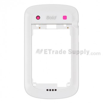 OEM BlackBerry Bold Touch 9900 Rear Housing ,White