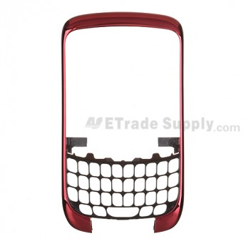 OEM BlackBerry Curve 3G 9300, 9330 Front Housing ,Red