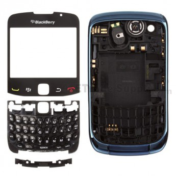 OEM BlackBerry Curve 3G 9300 Complete Housing ,Dark Blue