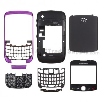 OEM BlackBerry Curve 3G 9300 Complete Housing ,Dark Purple