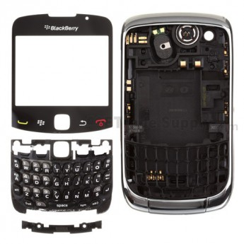 OEM BlackBerry Curve 3G 9300 Complete Housing ,Silver