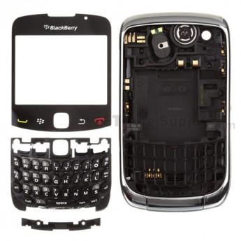 OEM BlackBerry Curve 3G 9300 Complete Housing ,Silver