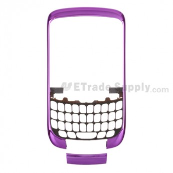 OEM BlackBerry Curve 3G 9300 Front Housing and Bottom Cover ,Dark Purple